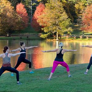 Yoga Classes at Chetola