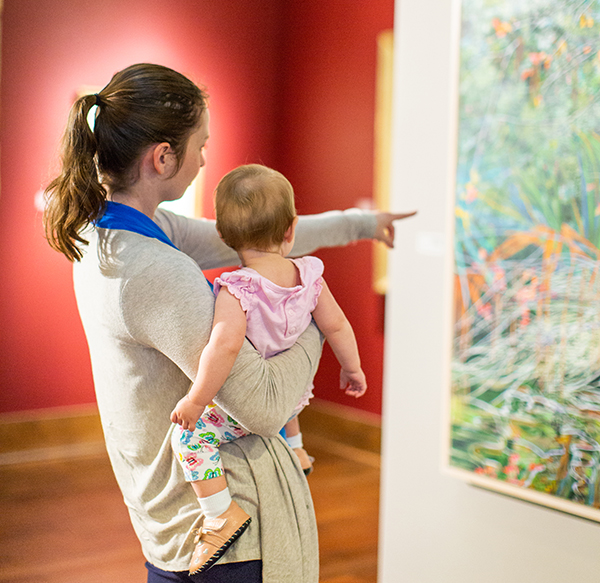 mother and child art gallery