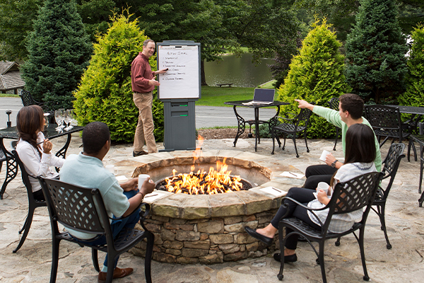 Firepit Meeting Space