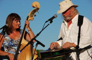 Canva - Music, Bluegrass, Musician, Outdoor, Bass, Guitar (1)