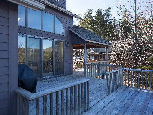 Deck exterior