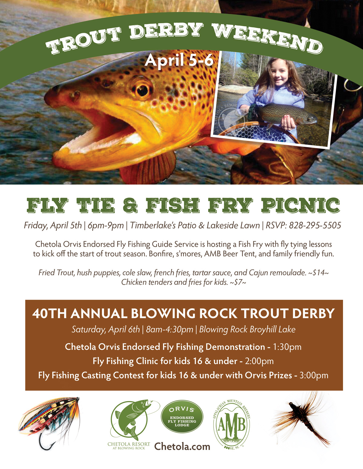 fly tie and fish fry