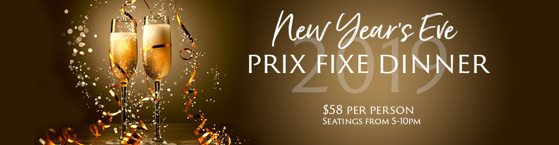 new years eve prix fixe