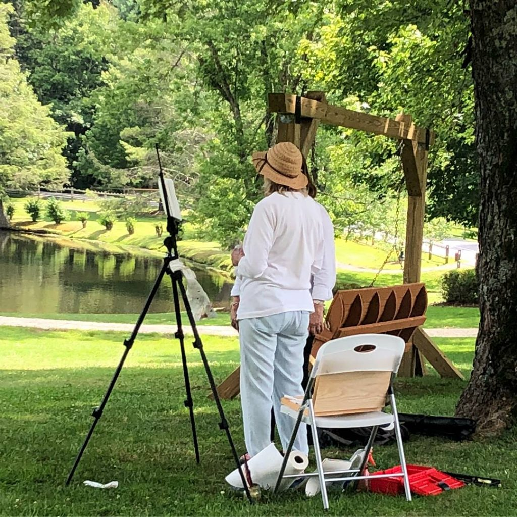 Acrylic Plein Air Painting Workshop