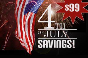 July 4th Savings!